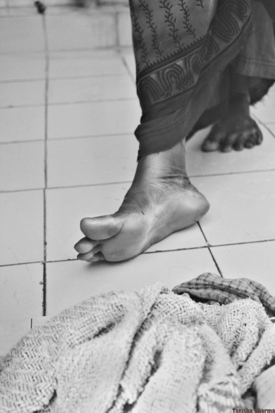 The Provider's Feet