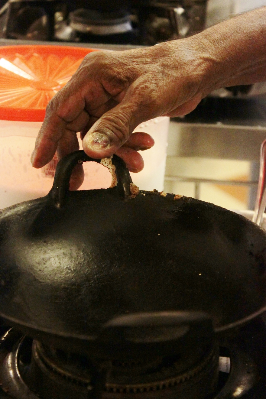 The Hand of the Appam Master
